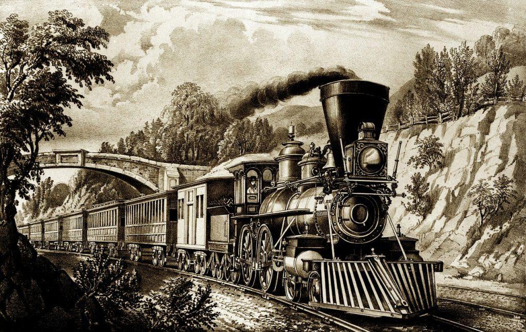 datos sobre trenes y locomotoras