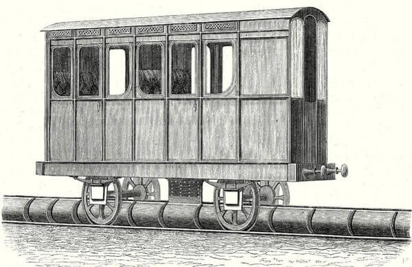 tren atmosférico