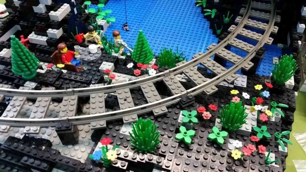 Historia de los trenes Lego